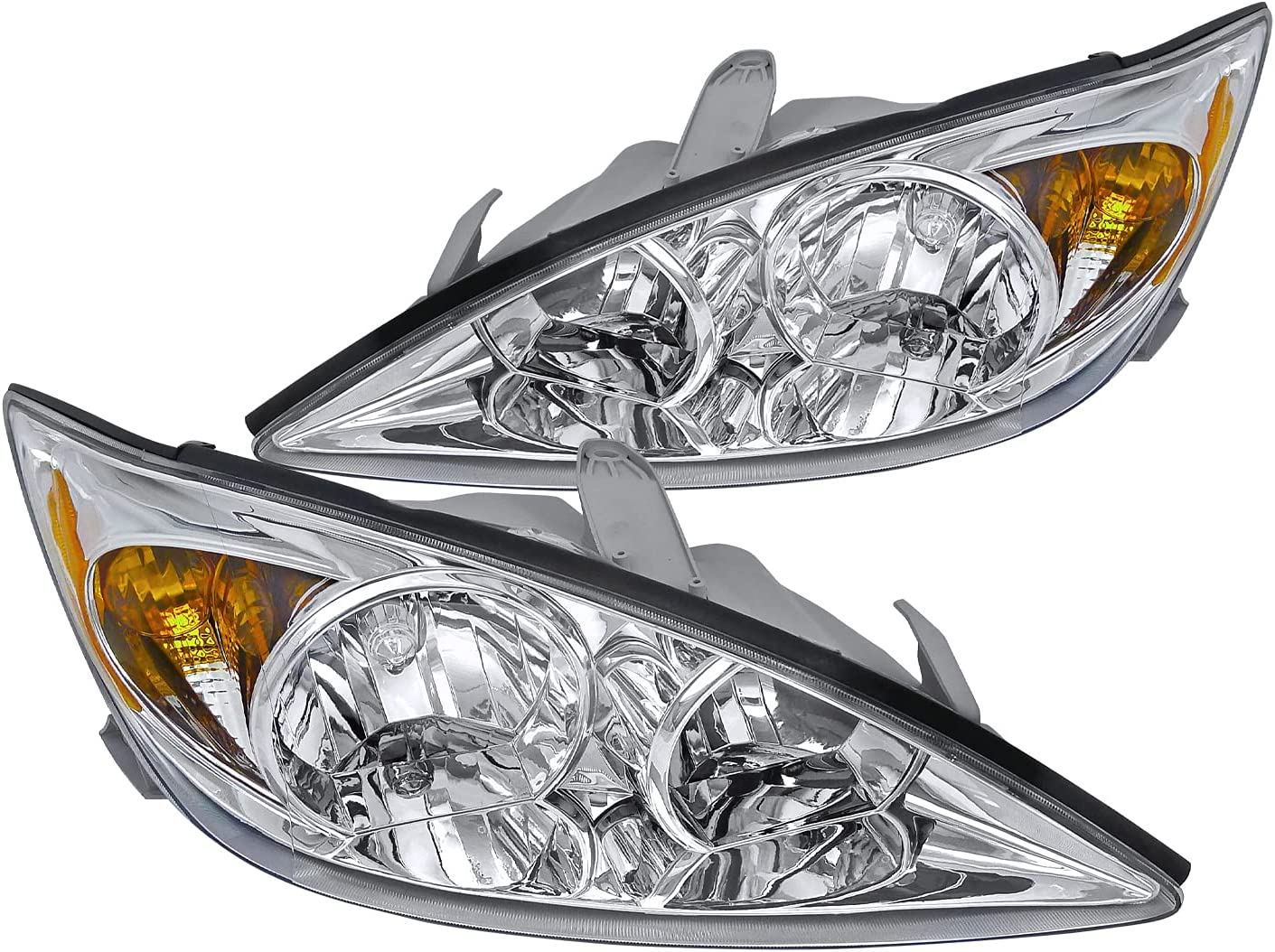 Ranking TOP6 Spec-D Latest item Tuning Chrome Housing Clear for 2002-2004 Headlights Lens