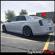 SpoilerKing Rear Window Roof Spoiler Compatible with Chrysler 300 2011-2017