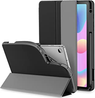 INFILAND Galaxy Tab S6 Lite Case with S Pen Holder, Slim Tri-Fold Case Cover Compatible with Samsung Galaxy Tab S6 Lite 10...