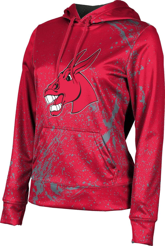 ProSphere University of Central Missouri Girls' Pullover Hoodie, School Spirit Sweatshirt (Splatter)