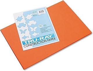 Sargent Art 23-4014 50-Count Orange Construction Paper