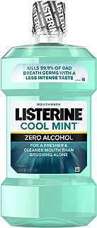 Listerine Zero Mouthwash,Clean Mint, 50.7-Ounce (1.5 L)