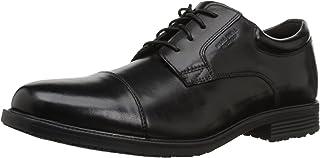 حذاء أوكسفورد ذو مقدمة مدببة مقاوم للماء من Rockport Men's Basic Detail