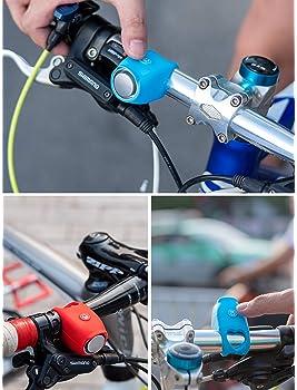 Bike Bell Cycling Electric Horn Waterproof Bicycle Handlebar 90db MTB Accessorie