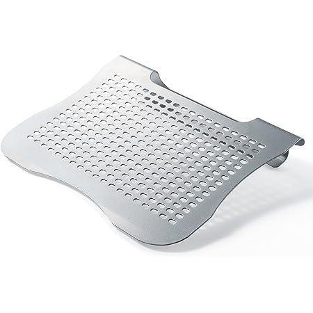 サンワダイレクト ノートパソコンスタンド 11型~15.6型対応 スチール製 放熱 姿勢改善 角度約15度 100-CR012