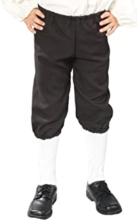 Alexanders Costumes Kids Knicker Pants, Black, Large