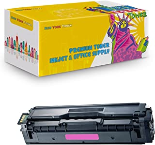 New York TonerTM New Compatible 1 Pack Samsung CLT-M504S High Yield Toner for Samsung - CLP-415NW | CLX-4195FW | CLP 470 | 475 . --Magenta