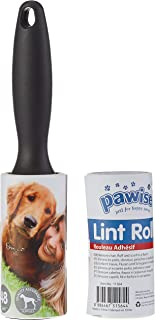 Pawise Lint Roller with Replacement, Multi-Colour, 48 Sheets