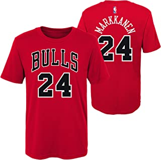 Chicago Bulls Youth #24 Lauri Markkanen Dri Fit Tee