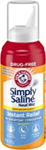 Simply Saline Nasal Mist  Instant Relief for Everyday Congestion, 4.5 Oz