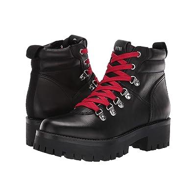 Steve Madden Buzzer Hiker Boot (Black) Women
