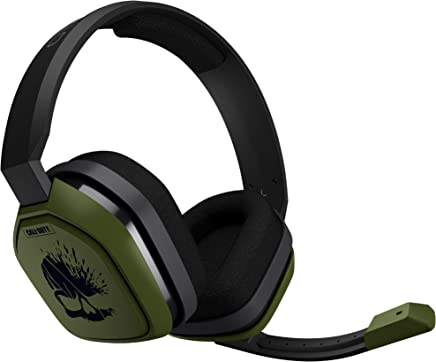 Logitech A10 Headset, Call of Duty Edition, Negro / Verde