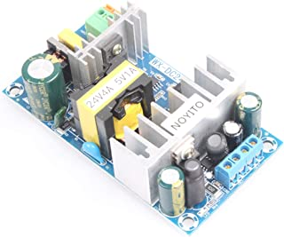 NOYITO AC to DC Isolated Power Supply Module DC 24V 4A 5V 1A Dual Output Power AC 110V (90-256V) 50-60Hz to 24V 3.3V 120W ...