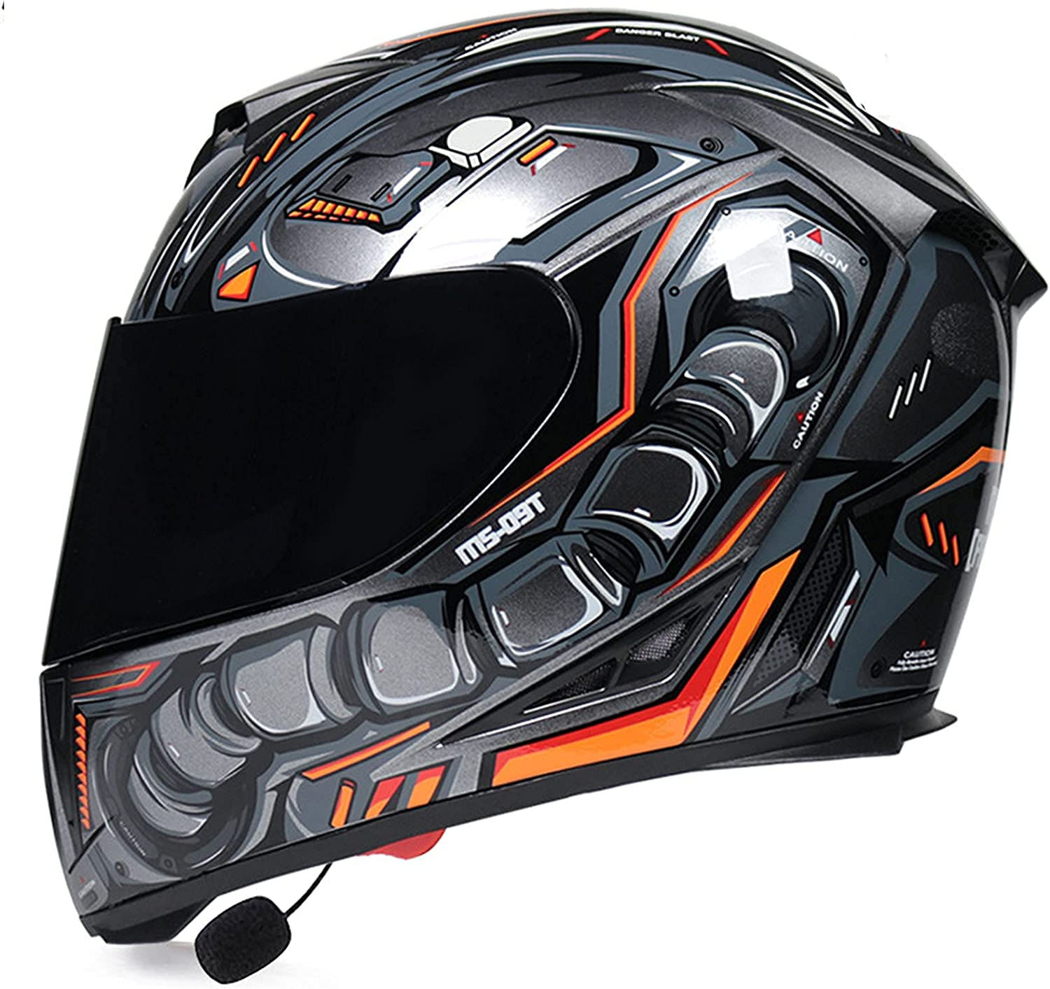 Open-Face Motorbike Helmets Clearance SALE! Limited time! Bluetooth Flip Courier shipping free Front Up Mo