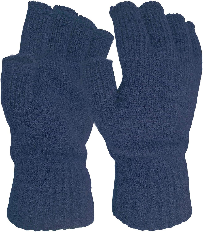 Reasoncool Damen Fingerlose Handschuhe,Winterhandschuhe Damen Winter Handschuhe Frauen Winter Armstulpen Gestrickt Stretch Twist Warme Ellenbogen L/änge F/äustlinge mit Handy