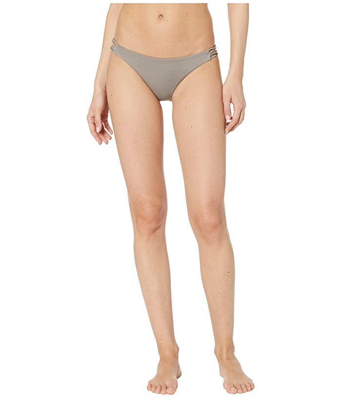 RVCA Solid Medium Loop Side Bottoms (Truffle) Women