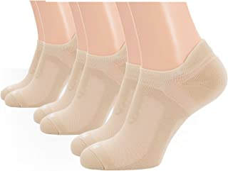 Running Socks No Show Low Cut Mens Sports Athletic Cushion 3 Pair Pack