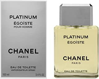Egoiste Platinum by Chanel for Men - Eau de Toilette, 100ml