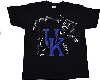 University of Kentucky Wildcats UK Highlight Print on Youth Kids Size Black T Shirt