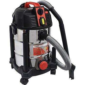 funci/ón autom/ática ON//OFF con dep/ósito 30 litros Black Decker 51687 Aspiradora 1600 W con toma de corriente
