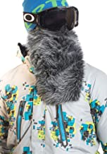 Beardski Great Wolf Grey Insulated Thermal Ski Motorcycle Warm Winter Beard Face Mask …