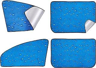 Jinlyp 4-حزمة سيارة المغناطيسي الجانب الأمامي الجانب نافذة الشمس الشمس الأشعة فوق البنفسجية الحماية، دائم المواد قسط