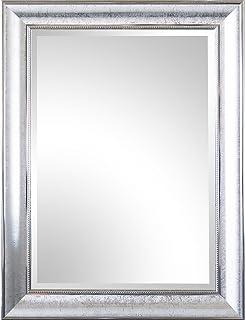 gancio Spiegelprofi Specchio con cornice in legno Pius 70 x 170 cm bianco incl