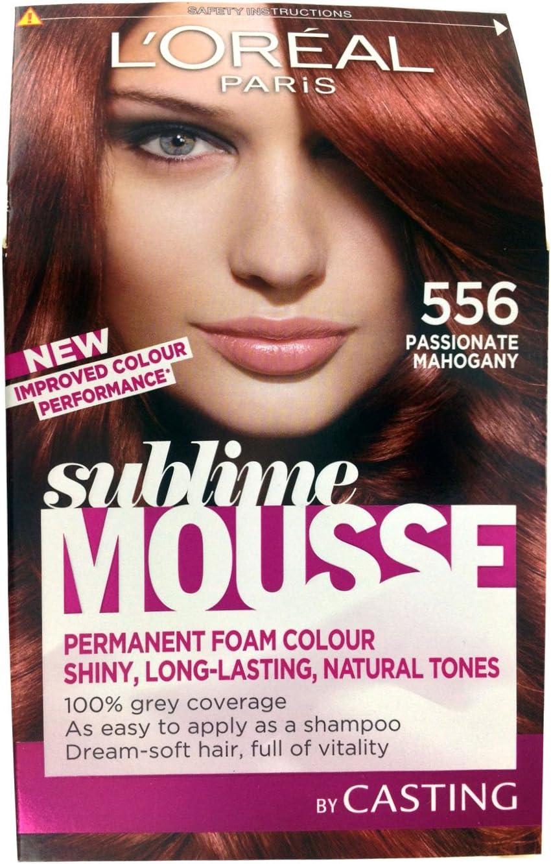 L Oreal Paris Sublime Mousse, apasionado caoba número 556