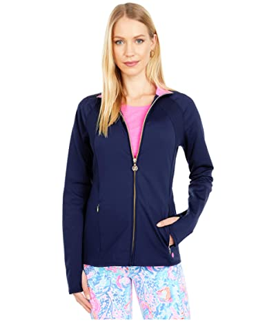 Lilly Pulitzer Tennison Jacket UPF 50+ (True Navy) Women