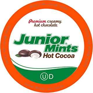 Tootsie Roll Junior Mints Hot Cocoa Pods, Compatible with Keurig K Cup Brewers, Perfect Peppermint Hot Chocolate Gift, 40 ...