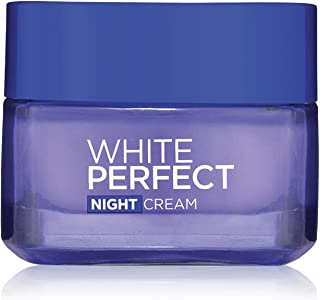 L'Oreal Paris Skin Care White Perfect Soothing Cream Night 50 ml, Pack of 1
