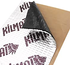 Kilmat 50 mil 50 sqft Car Sound Deadening Mat, Butyl Automotive Sound Deadener, Audio..