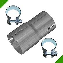 48mm To 38mm Inox Évasé Standard Échappement Réducteur Connecteur Tube Tuyau