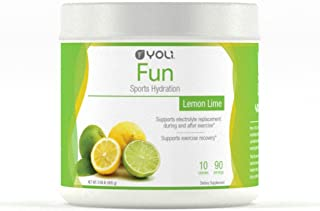 Yoli Fun- Promotes Fast Recovery After Workout - Sugar-Free Caffeine-Free Calorie-Free (Canister - 90 Servings)