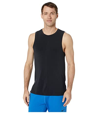 Nike Active Recovery Dri-FIT Tank (Black/Black) Men