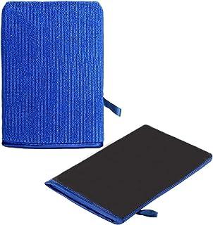 Auto Waschhandschuhe, Tonhandschuh für Auto mit erstklassige Saugkraft Mikrofaser Handschuhe für die Autowäsche (1 Stück)