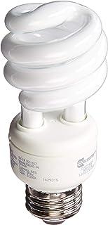 EcoSmart 60-Watt Equivalent Daylight (5000K) Spiral CFL Light Bulb (4-Pack)