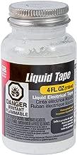 Gardner Bender LTW-400 4OZ WHT LIQ Elec Tape, 4 Oz Bottle, White