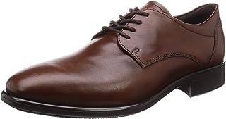 ECCO Men's Citytray Plain Toe Tie Oxford, Cognac, 14/14.5 UK