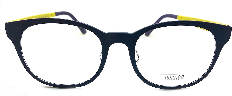 Piovino Prescription Eye Glasses Frame Ultem Super Light, Flexible 3023 C72