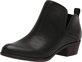 Lucky Brand Women's Bollo Bootie Ankle Boot, Black, 6.5