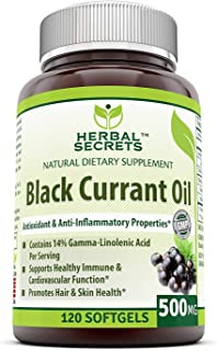 Best now foods black currant oil 500 mg Reviews