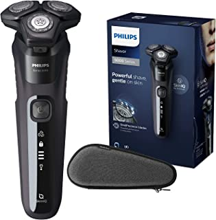 Philips Elektrisk rakapparat Series 5000 - SkinIQ Teknik - Flexibla 360-D rakhuvuden - För våt- och torrakningg - 60 minut...
