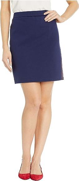 Side Logo Tape Skirt