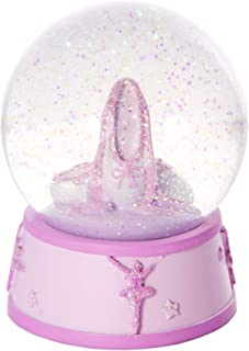 Pink Ballerina Snow Globe Ballet Gift for Girls by Mousehouse Gifts