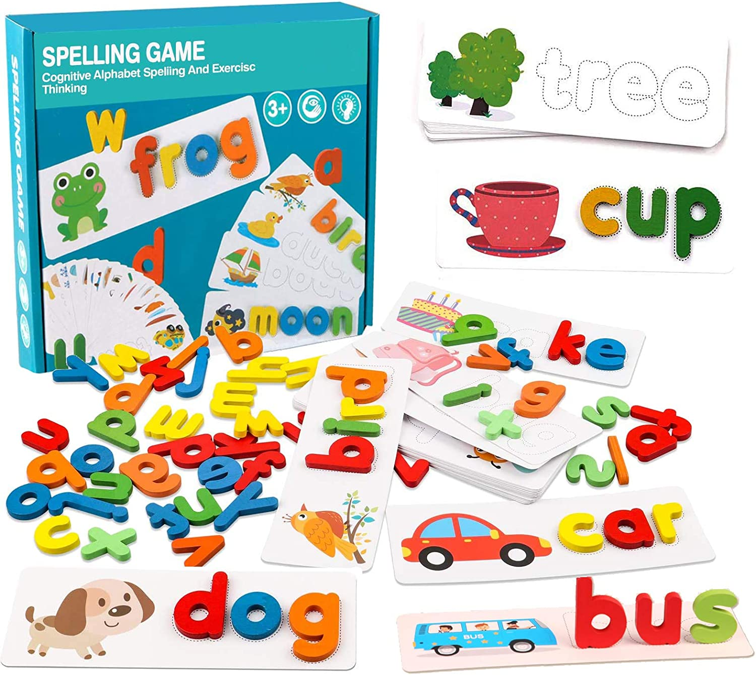 See Ranking TOP7 and Dealing full price reduction Spell Learning Toys - Sight Cards Flash Words Alphabet M