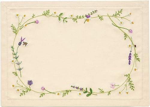 tienda hace compras y ventas Orimupasu made embroidery kit  my sweet garden  No.9027 No.9027 No.9027 herbs (tea mat) (japan import)  estar en gran demanda