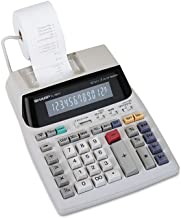 $66 » Sharp EL1801V EL-1801V Two-Color Printing Calculator Black/Red Print 2.1 Lines/Sec