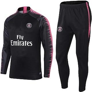 Pạṛịṣ football club football training suit Men's adult football tracksuit Uniform-Men's Spring Autumn Adult Long Sleeve Tr...