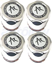 American Racing Set (4pcs) AR Chrome Wheel Center Caps 3. 27